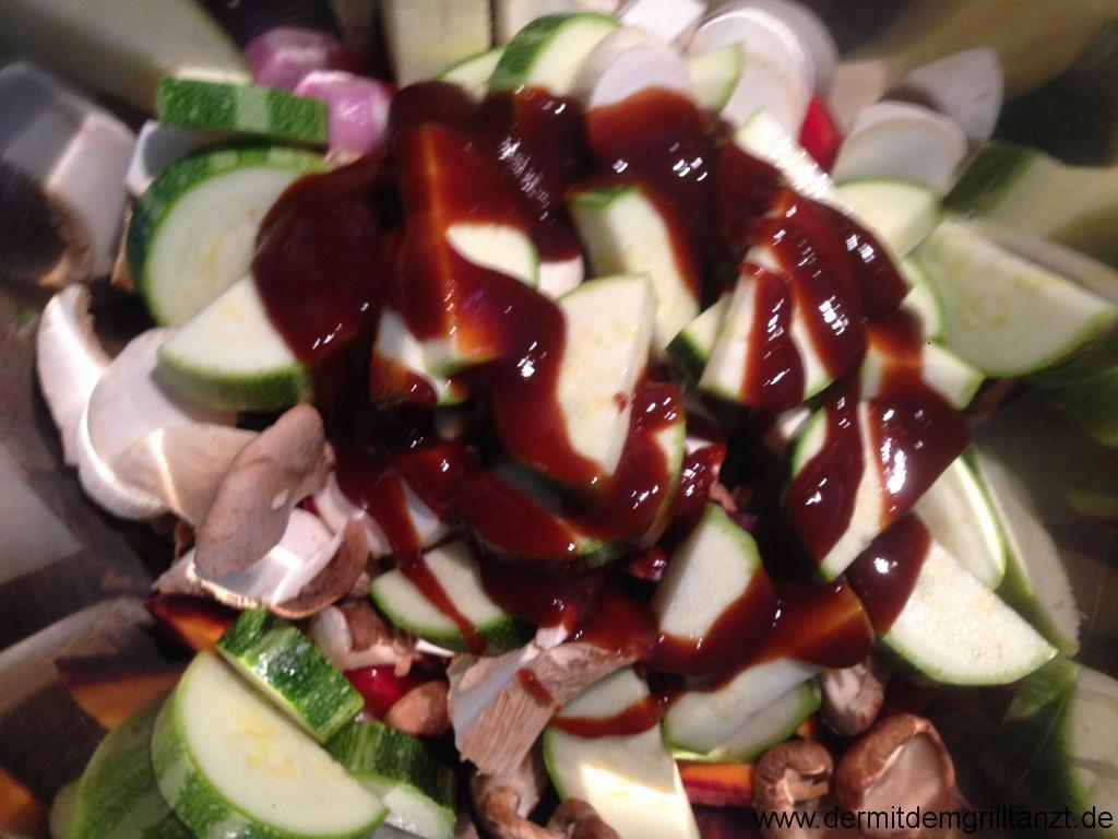 BBQ Gemüse